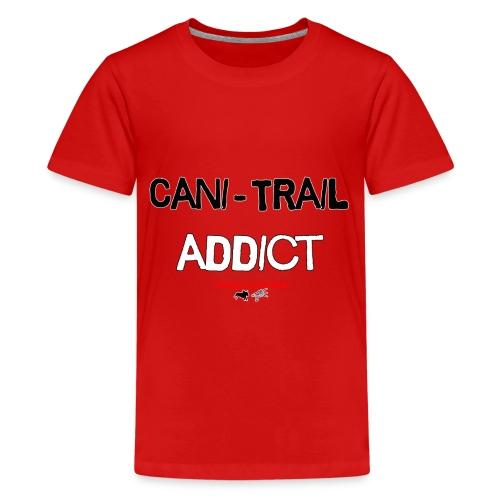 cani Trail addict - T-shirt Premium Ado