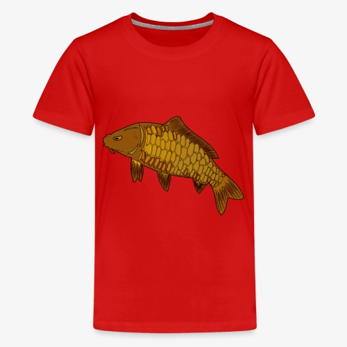 TruePassionCarp,Fishing,Angeln - Teenager Premium T-Shirt