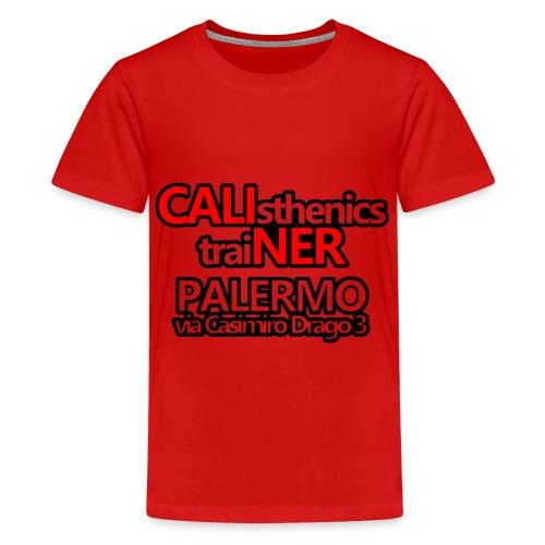 Caliner Palermo T-shirt - Maglietta Premium per ragazzi