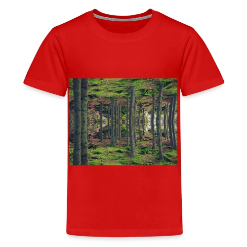 Forest state of mind. - Premium-T-shirt tonåring