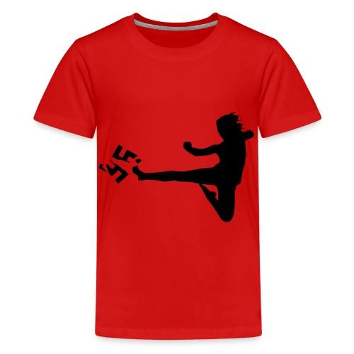 Gegen Rassismus - Teenager Premium T-Shirt