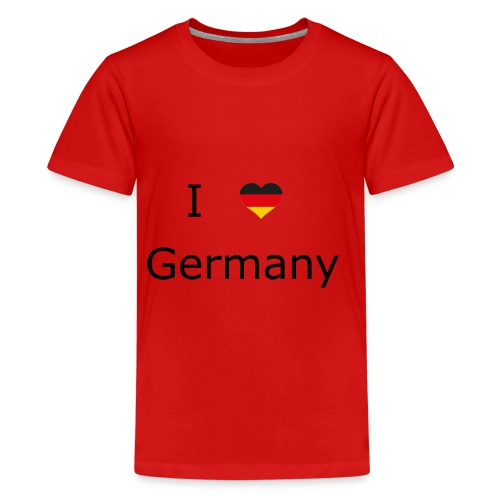 I Love Germany - Teenager Premium T-Shirt