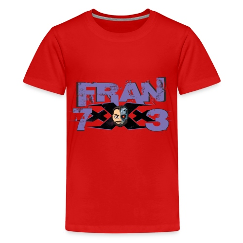 FranxXx73 Morado Twitch - Camiseta premium adolescente