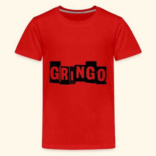 Cartel Gangster pablo Gringo Mexiko Tshirt - Teenager Premium T-Shirt