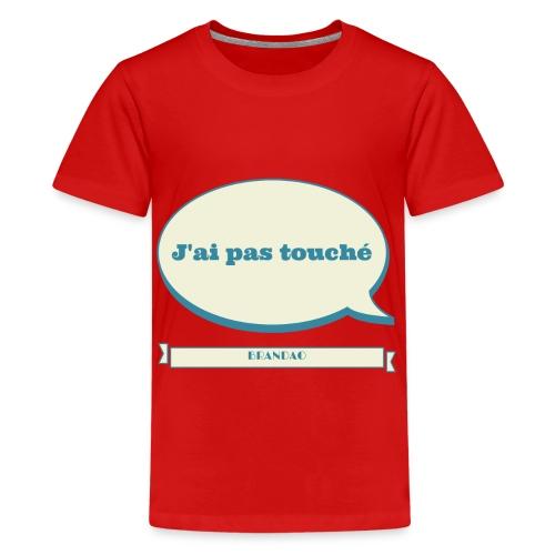 pas-touché-brandao - T-shirt Premium Ado