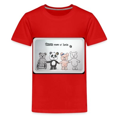 United bears of love - T-shirt Premium Ado