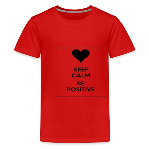 keep- positive - Maglietta Premium per ragazzi