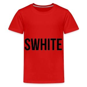 Swhite - Teenager Premium T-shirt