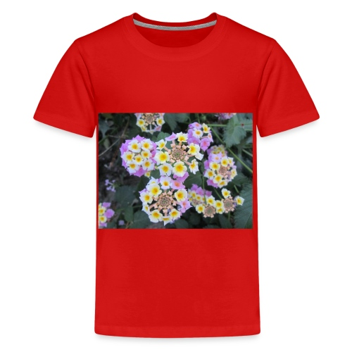 Flower power Nº8 - Camiseta premium adolescente