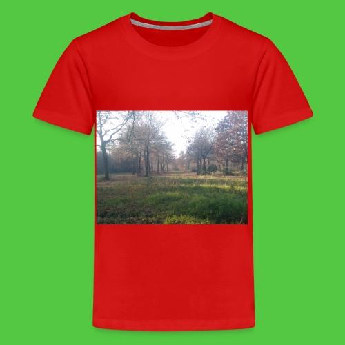 La nature quel bonheur - T-shirt Premium Ado