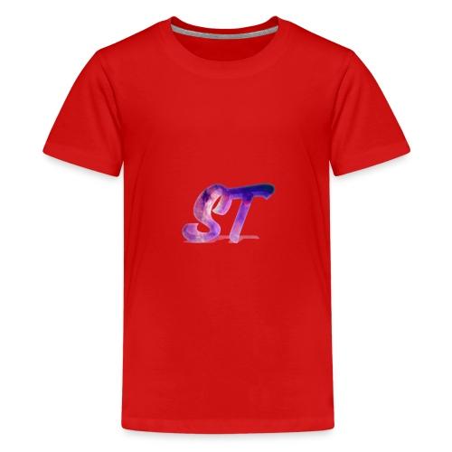 Logo Shorts - Teenager Premium T-Shirt