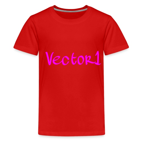 Vector1 Limited Edition Clothing Line 1 - Teenage Premium T-Shirt