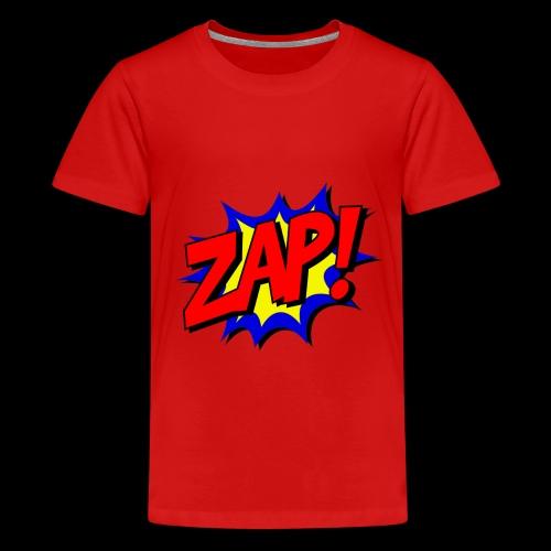 Zap! - Teenager Premium T-Shirt