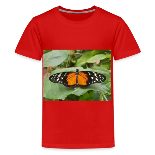 Joli papillon - T-shirt Premium Ado