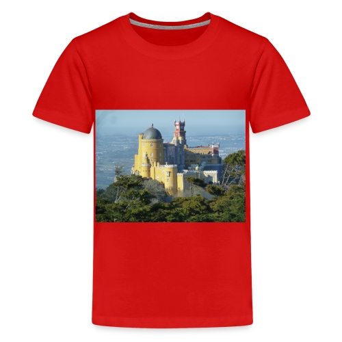 Schloss - Teenager Premium T-Shirt