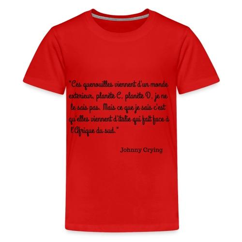 LES QUENOUILLES - T-shirt Premium Ado