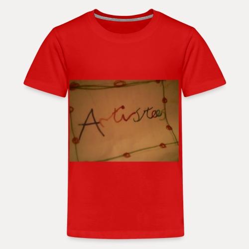 Artistees - Teenage Premium T-Shirt