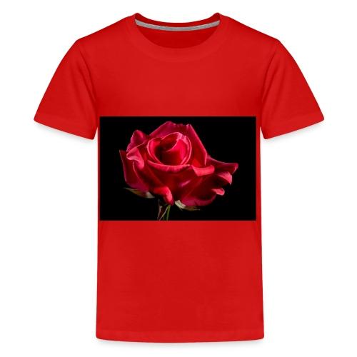 T-Shirt Rose Geschenk Geschenkidee - Teenager Premium T-Shirt