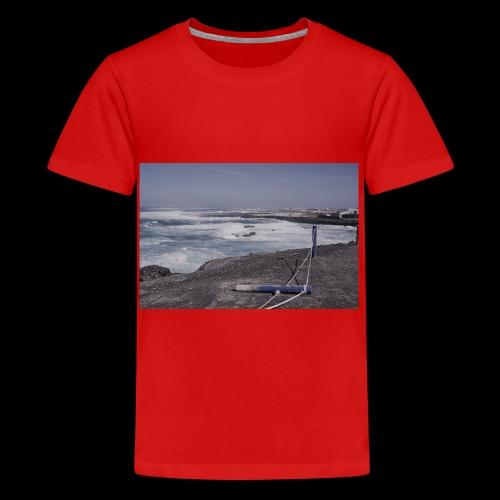 Poller muede - Teenager Premium T-Shirt
