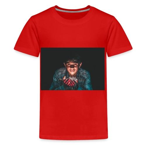 Licht in die Dunkelheit - Teenager Premium T-Shirt