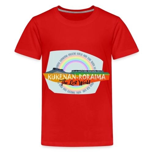 Roraima and Kukenan, The Lost World - Camiseta premium adolescente