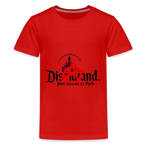 Anarchy ain't on sale(Dismaland unofficial gadget) - Teenage Premium T-Shirt