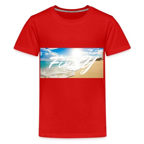 FinlY Beach - Teenage Premium T-Shirt