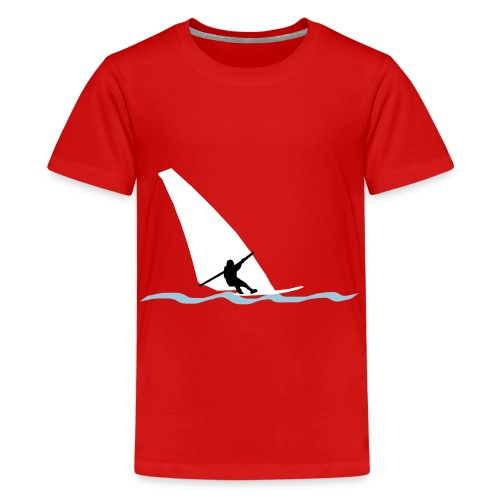 geradeausfare-svg - Teenage Premium T-Shirt