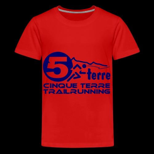 Cinque Terre Trailrunning - Teenager Premium T-Shirt