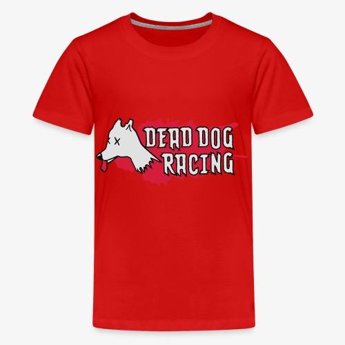 Dead dog racing logo - Teenage Premium T-Shirt