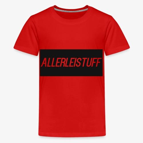 AllerleiStuff Zwart - Teenager Premium T-shirt
