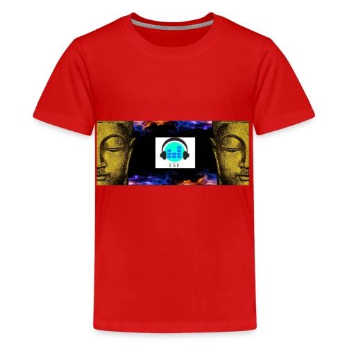 EGE business mode logo jubiläums - Teenager Premium T-Shirt