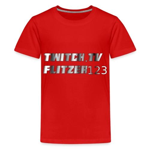 flitzer 123 - Teenager Premium T-Shirt