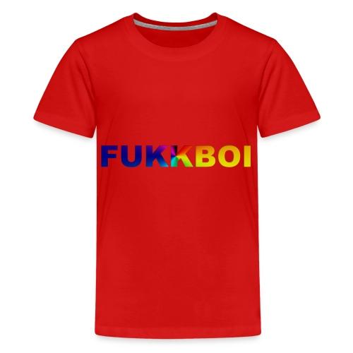FUKKBOI - Premium T-skjorte for tenåringer