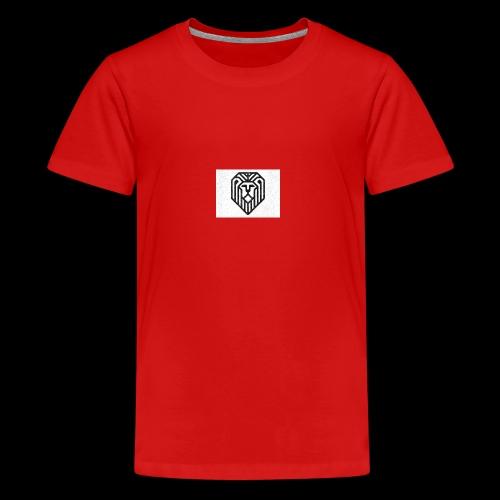 lion logo - T-shirt Premium Ado