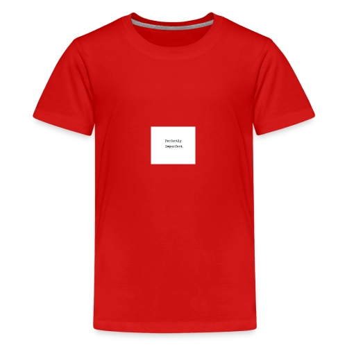 Perfectly imperfect - Teenager premium T-shirt