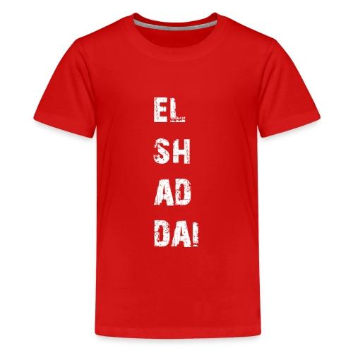EL SH AD DAI 2 - Teenager Premium T-Shirt