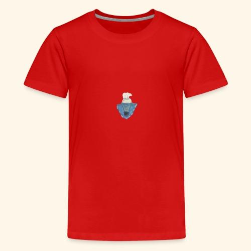 Polar bear - Teenage Premium T-Shirt