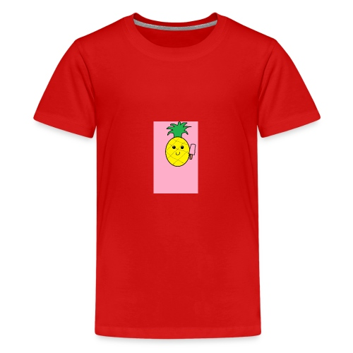 Naamlooslol - Teenager Premium T-shirt
