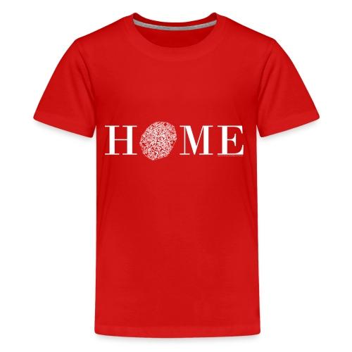 HOME - Nördlingen, Altstadt, weiß - Teenager Premium T-Shirt