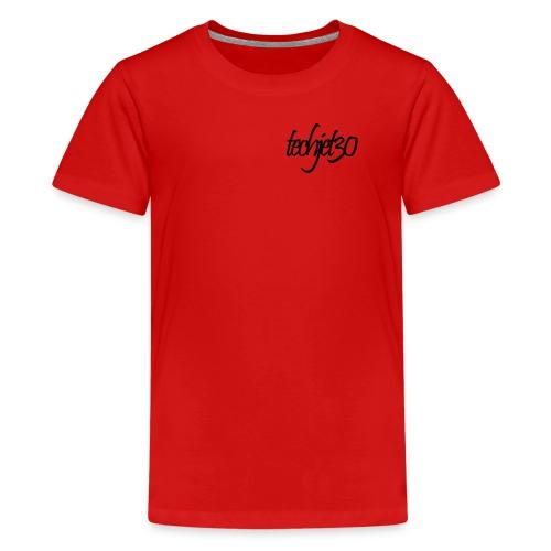 Techjet30 Siganture Design - Teenage Premium T-Shirt