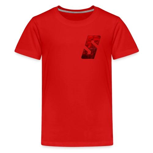 S Logo - Teenage Premium T-Shirt