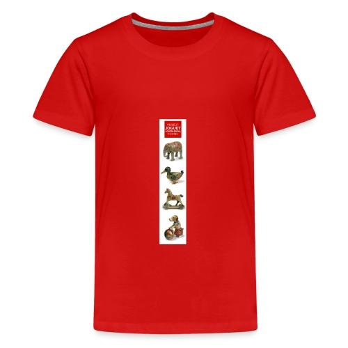 Joguets 1 / Juguetes 1/ Jouets 1/ Toys 1 - Camiseta premium adolescente