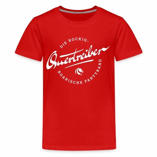 Quertreiber Logo 2017 - Teenager Premium T-Shirt