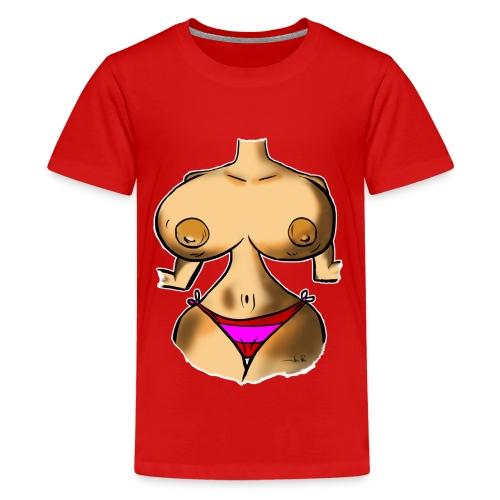 TOPLESS 3 - Camiseta premium adolescente