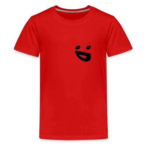 Smileiiiiii - Teenage Premium T-Shirt
