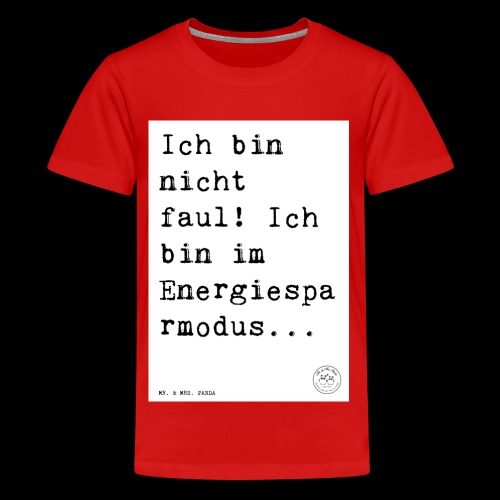 d9eb61cd0a095cb61674453ab9e1ca5d - Teenager Premium T-Shirt