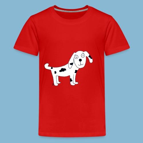 Hund Leo der treue - Teenager Premium T-Shirt