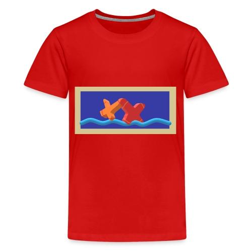 2CrossoverWater - Teenager Premium T-Shirt