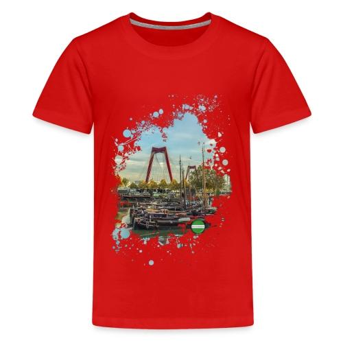 rotterdam splash oude haven 2mini fw - Teenager Premium T-shirt